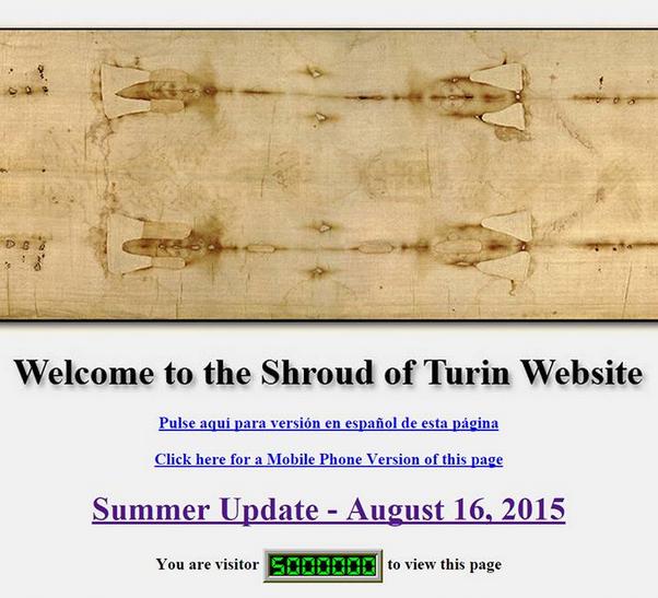 shroud of turin website