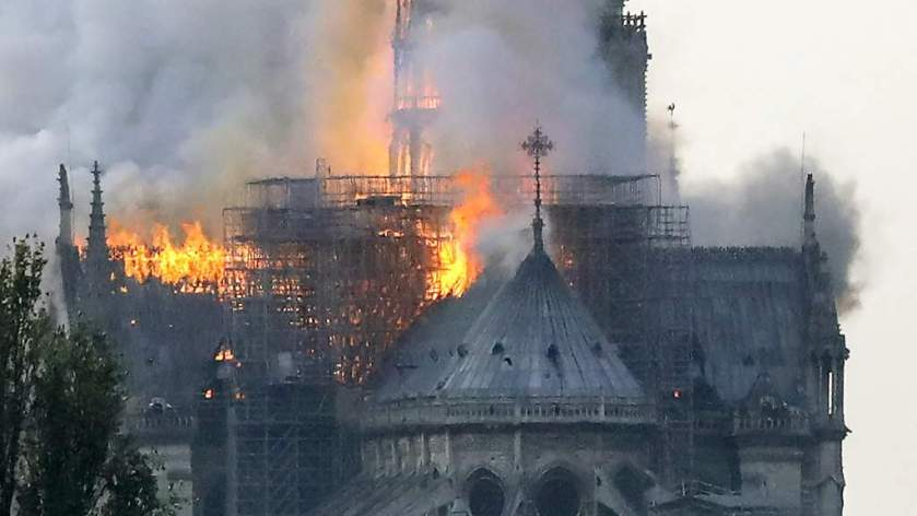 The Fire at Notre Dame in Paris – Shroud of Turin Blog